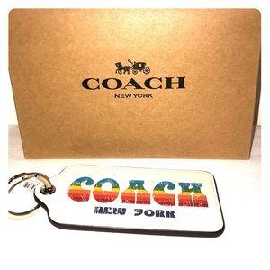 NWT Coach Keychain